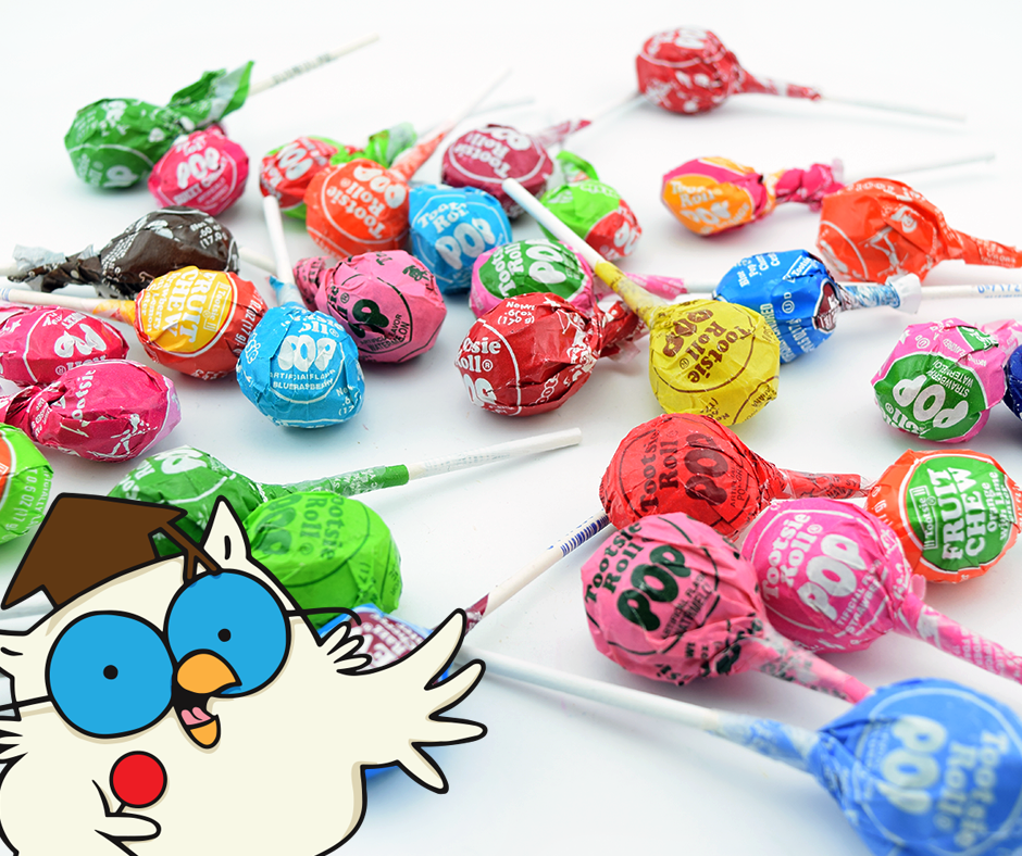 2 Bags Of TOOTSIE ROLL POPS Assorted Flavored Candy ... |Tootsie Pop Sucker