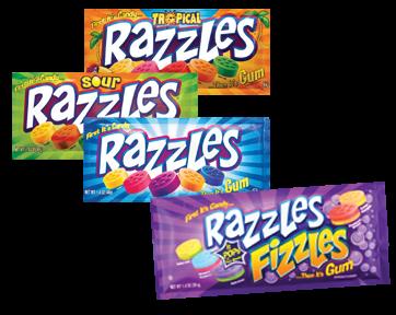 Tootsie Gt Candy Gt Razzles Gt Razzles